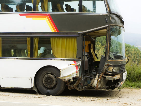 Los Angeles bus accident attorney can assist those who were injured in this crash involving a double-decker tour bus