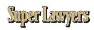 Badge of recognition from Super Lawyers